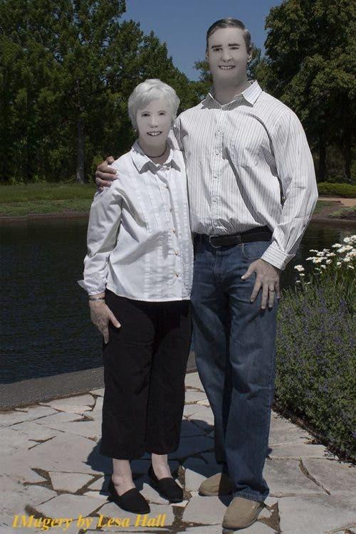fotógrafa manda retoques excesivos photoshop Pam Dave Zaring Missouri Lesa Hall