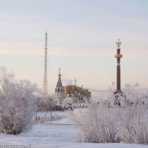 temperaturas gélidas rompen récord -62º Siberia Oymyakon