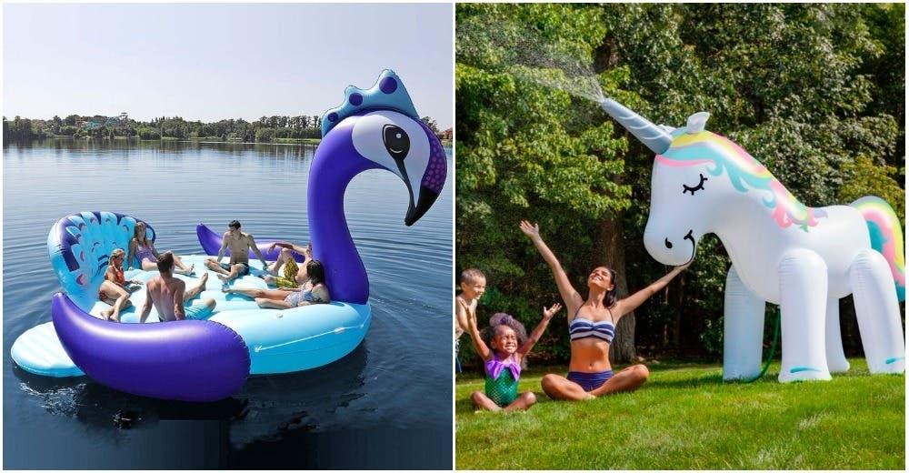 Los flotadores e inflables que te har n desear a n m s tener una piscina gigante - Flotadores gigantes ...