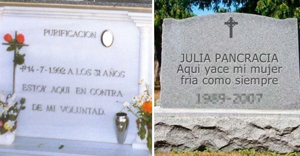 Todos los que leen los mensajes de estas 10 lápidas terminan completamente desconcertados