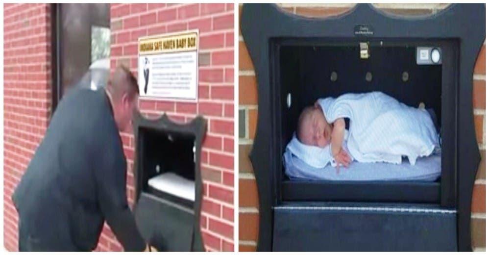 Construyen «cajas de seguridad» en la estación de bomberos para entregar a bebés recién nacidos
