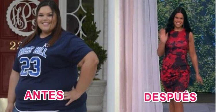 jessica perdida peso 170 libras 85 kilos fitness dieta ejercicio inspiracion motivacional logros cambio cuerpo saludobesidad morbida alta tension