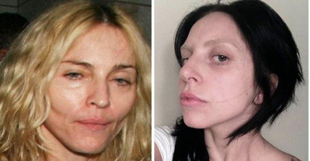 Son 22 celebridades muy famosas, pero sin maquillaje nadie las puede reconocer