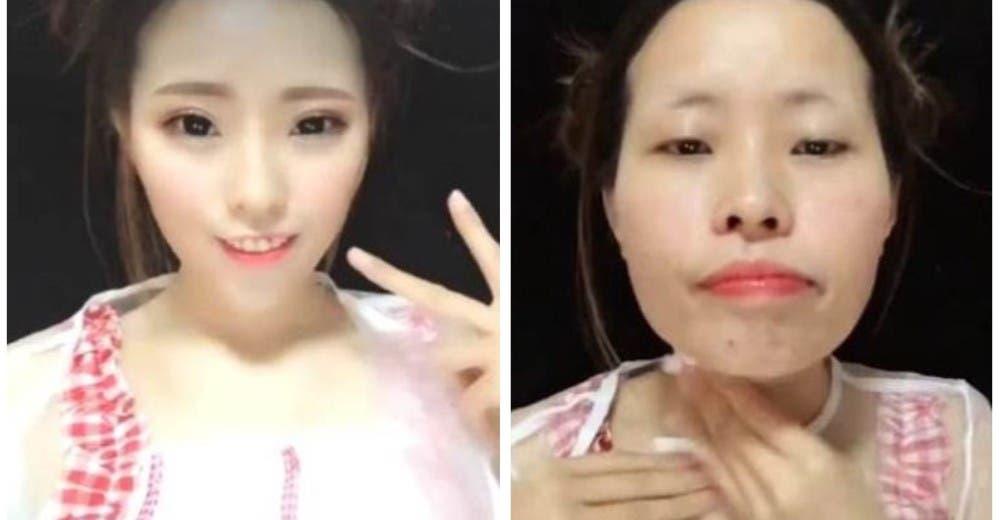 Quedan completamente irreconocibles cuando se quitan el maquillaje