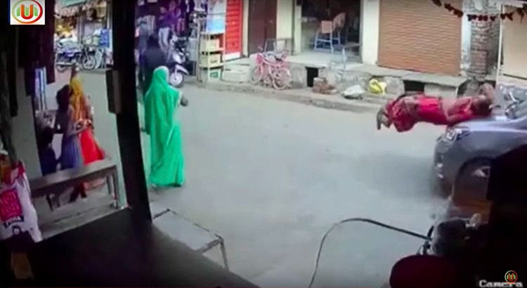 Accidente La India