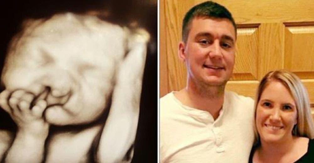 Pareja decide seguir adelante con el embarazo y la transformación de su bebé emociona al mundo
