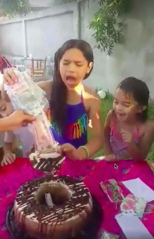 Torta Cumpleaños Sorprendente