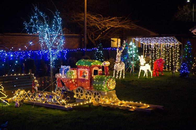 Decoración Navidad Familia Williams