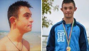 Un joven con Síndrome de Down arriesga su vida para salvar a 2 niñas que se ahogaban en el mar