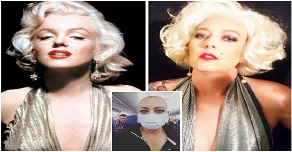 Se disfraza de importantes celebridades para aliviar el dolor mientras lucha por sobrevivir