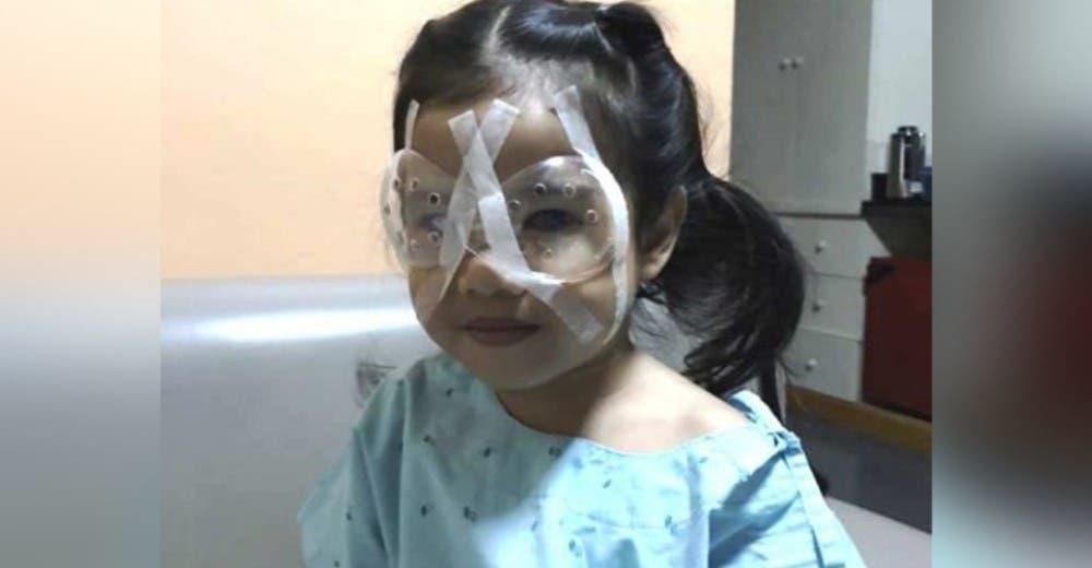 Una niña de 4 años casi pierde la vista por el uso excesivo del teléfono móvil