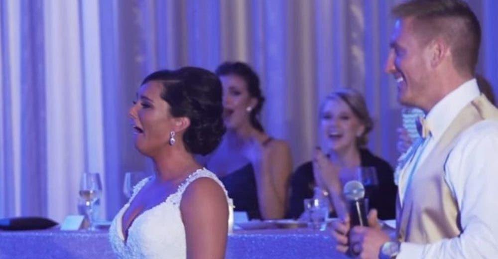 Hace llorar a su novia en plena celebración de la boda diciéndole que no serán la misma familia
