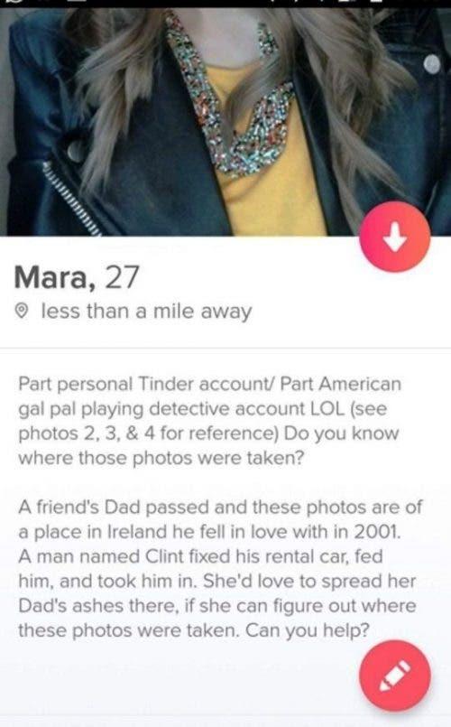 Mara en Tinder