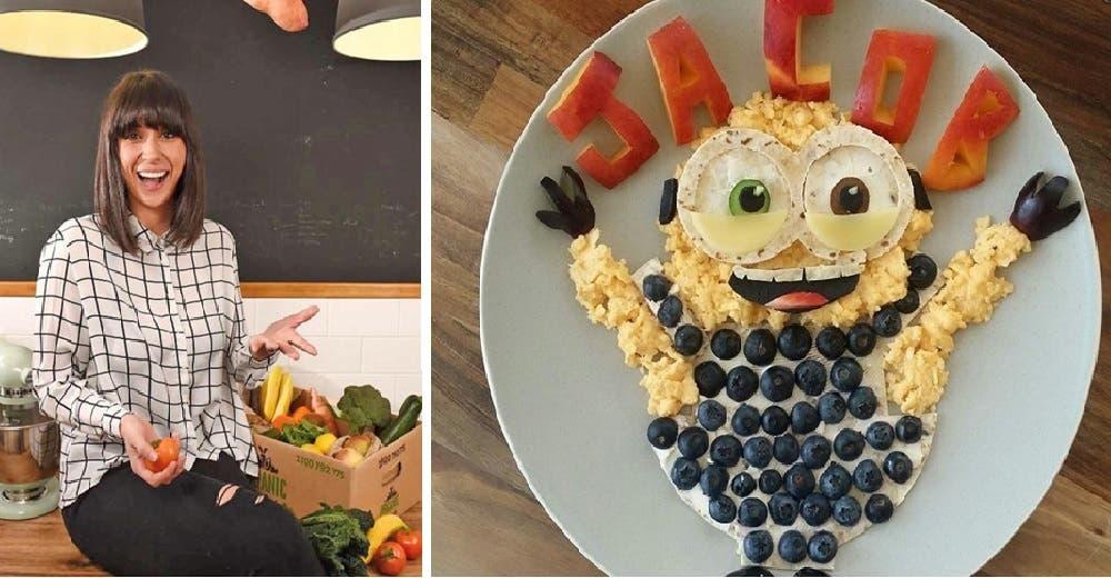 Los platos de vegetales que hace para su hijo de 3 años la convierten en una celebridad