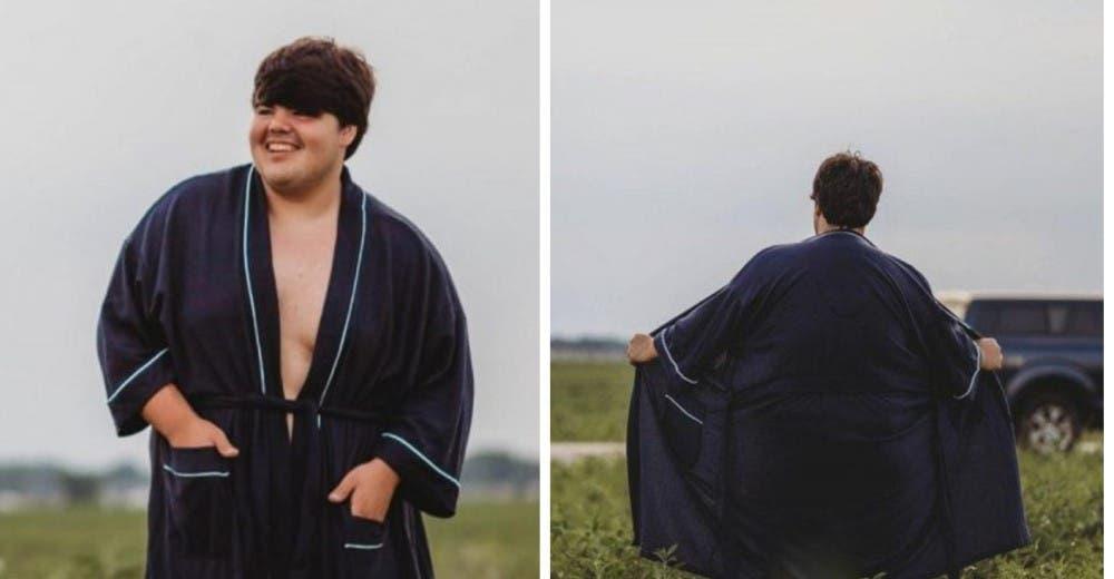 Su madre quería colgar su retrato en la casa pero él la escandalizó con sus peculiares fotos