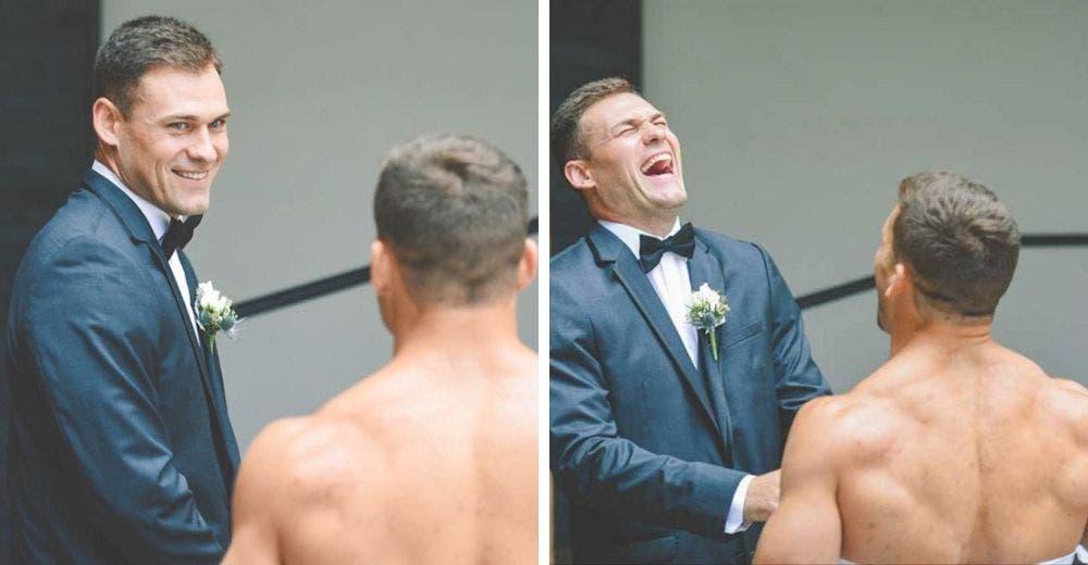 Esperaba ver a su prometida en el altar pero en su lugar apareció un hombre vestido de novia