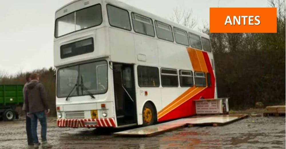 Padre soltero compra un autobús y lo transforma en la casa de sus sueños para viajar con su hija