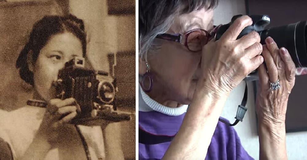 """""""Me daba mucho miedo» – Fue la primera en fotografiar las escenas más devastadoras en su país"""