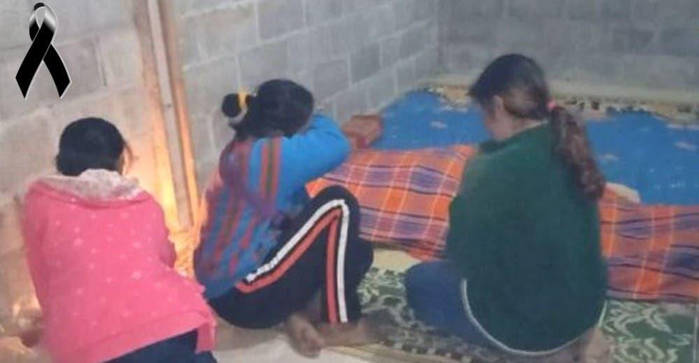 Muere de hipotermia por darle la única manta que tenía a su hija de 8 años