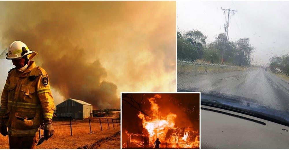 Los bomberos advierten los graves riesgos de las fuertes lluvias ante los incendios de Australia
