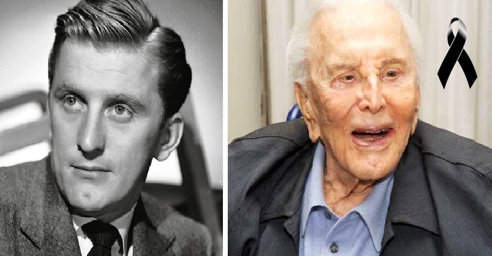 El actor Kirk Douglas muere a los 104 años sin dejar ni un dólar de su fortuna a su familia