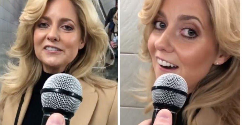 """Habla la mujer que fue grabada en el metro cantando «Shallow"""" de Lady Gaga"""