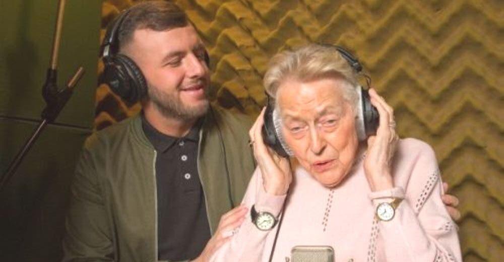 A los 83 años y con Alzheimer graba su primera canción rompiendo récords