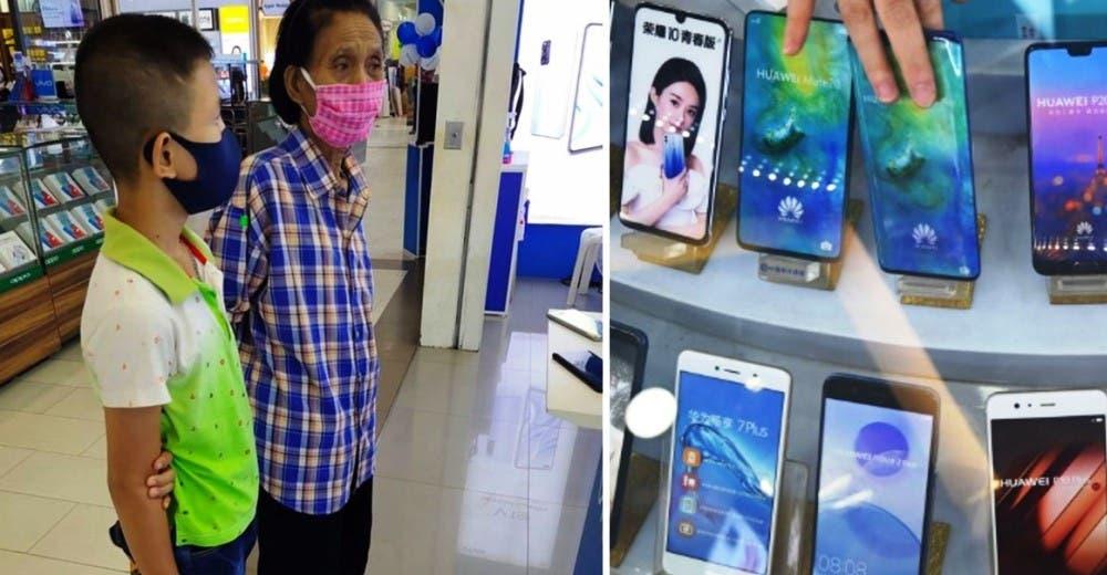 El drama de la abuela que intentó comprar un teléfono para que su nieto tomara clases online