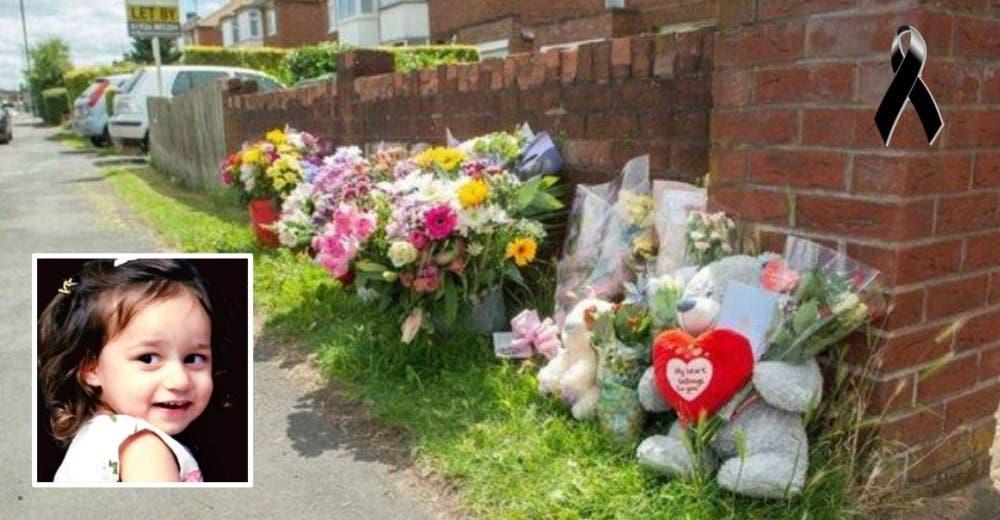 Piden ayuda para los padres que perdieron a su hija de 3 años frente a su casa
