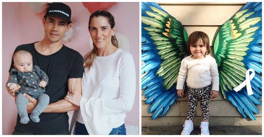 «Nació perfecta»–Muere a los 22 meses la bebé de un golfista profesional tras un cáncer agresivo