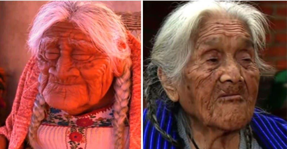 Visitan a la anciana de 107 años que inspiró a Disney para crear la película «Coco» - Viralistas.com