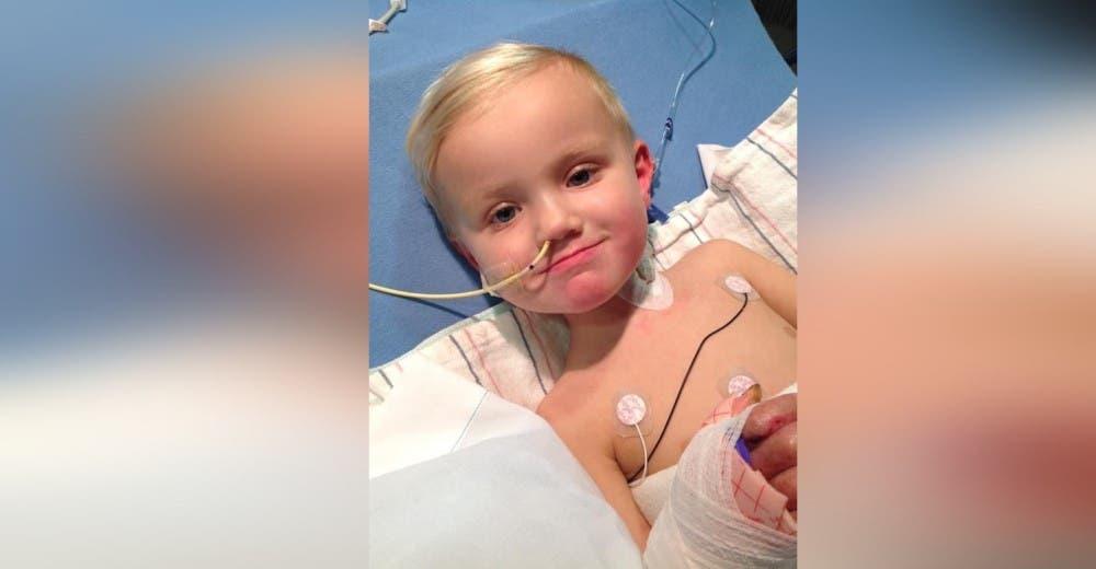 Un niño de 3 años se raspa una rodilla al caerse y terminan amputándole las 2 piernas