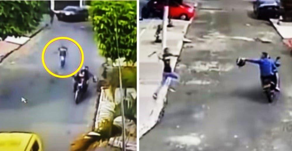 Los vecinos acuden a ayudar a una madre que gritaba desesperada por salvar a su hija de 2 años