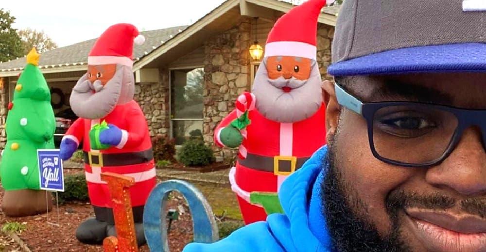 «Múdate, eres la burla del barrio» – Recibe una carta de un vecino por su decoración navideña