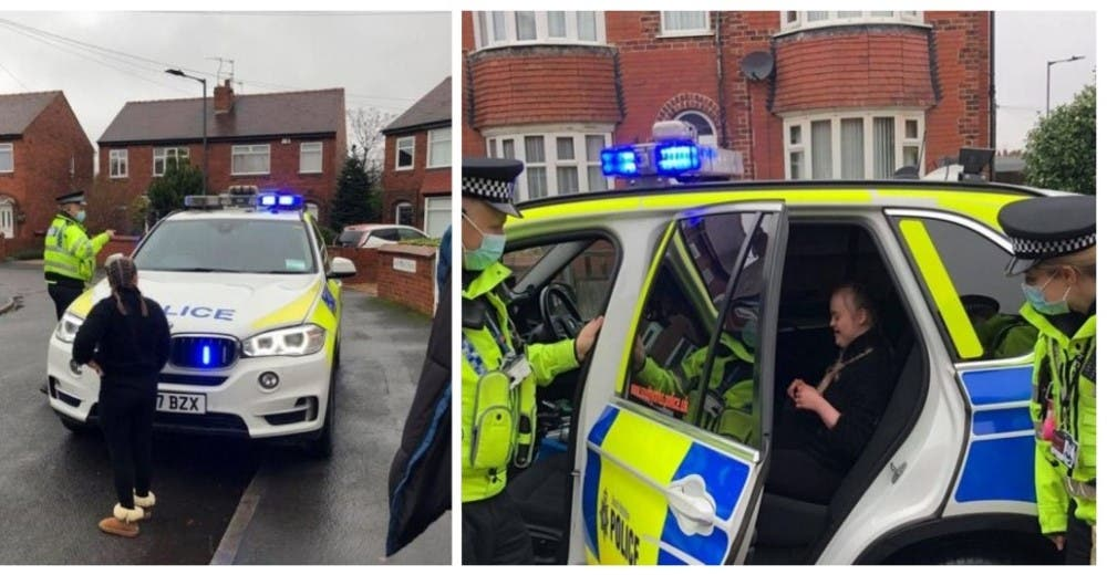 Los policías arrestan a una niña con Síndrome de Down frente a su casa en plena Navidad