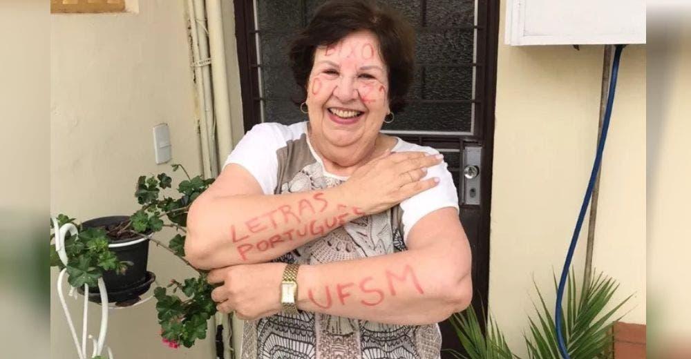 A los 72 años confiesa que se arrepiente de casarse, vence al cáncer y entra en la universidad