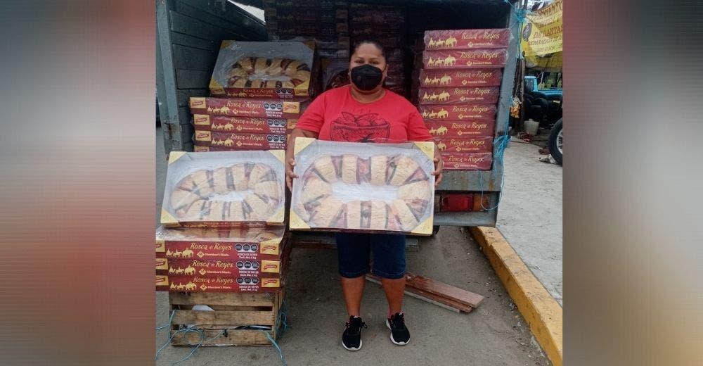 Se defiende de los señalamientos que recibe por revender 300 roscones de Día de Reyes