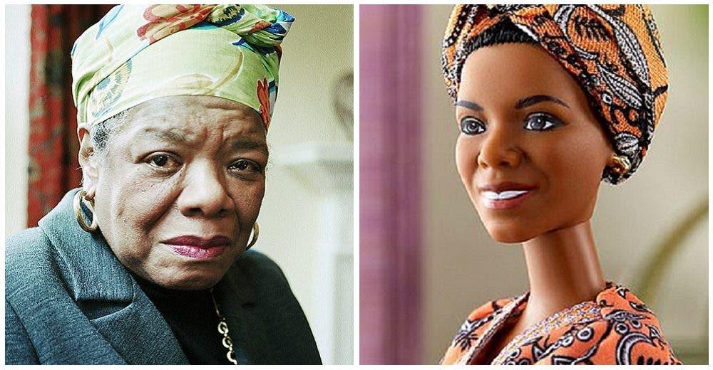 Lanzan al mercado una Barbie inspirada en la humilde doctora y activista Maya Angelou