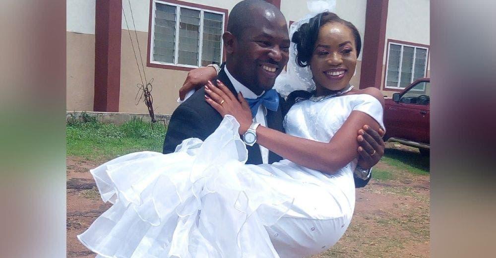 «Dios me mostró su misericordia» –Critican a una madre soltera por celebrar su matrimonio