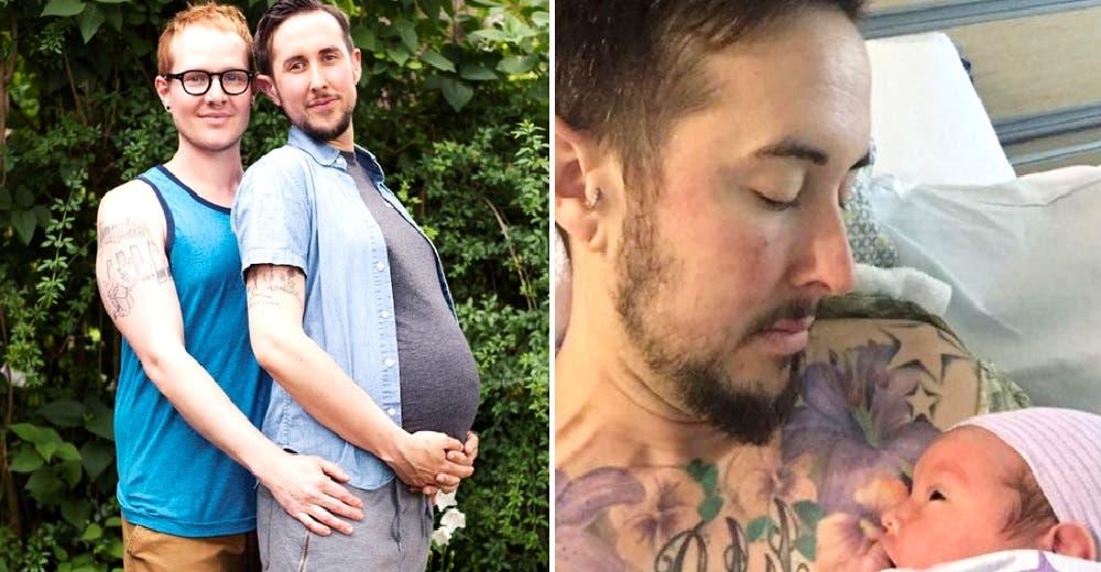 «Soy un hombre que sí puede quedar embarazado» – Vence los prejuicios y se convierte en padre