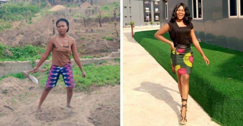 Se transforma la humilde joven que trabaja sin descanso en una granja para «verse hermosa»