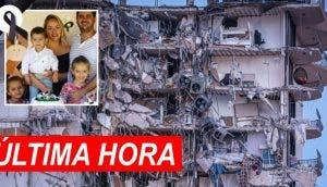 Una familia de 5 miembros está entre los 99 desaparecidos tras el derrumbe de un edificio