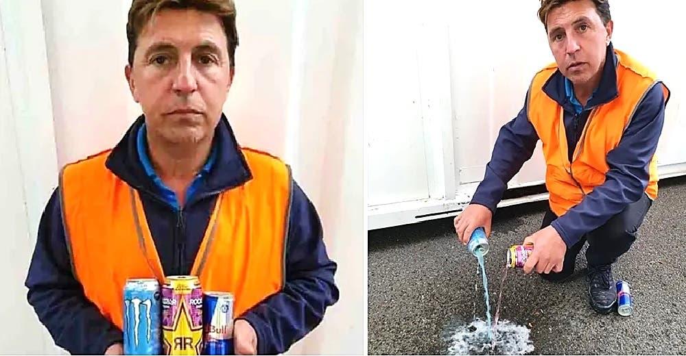 «No tenía idea del daño que hacen» – Tomar 12 bebidas energéticas al día le causa un infarto