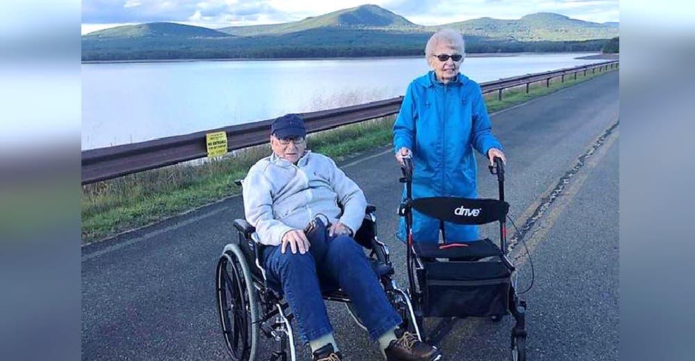 A los 95 años se enamoran después de quedarse viudos 2 veces y perder la esperanza