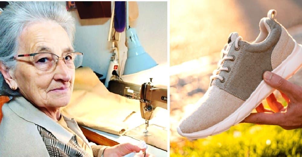 A los 77 años fabrica zapatos con su nieto empleando materiales 100% naturales