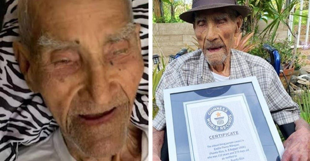 Celebra sus 112 años convirtiéndose en el hombre más longevo del mundo