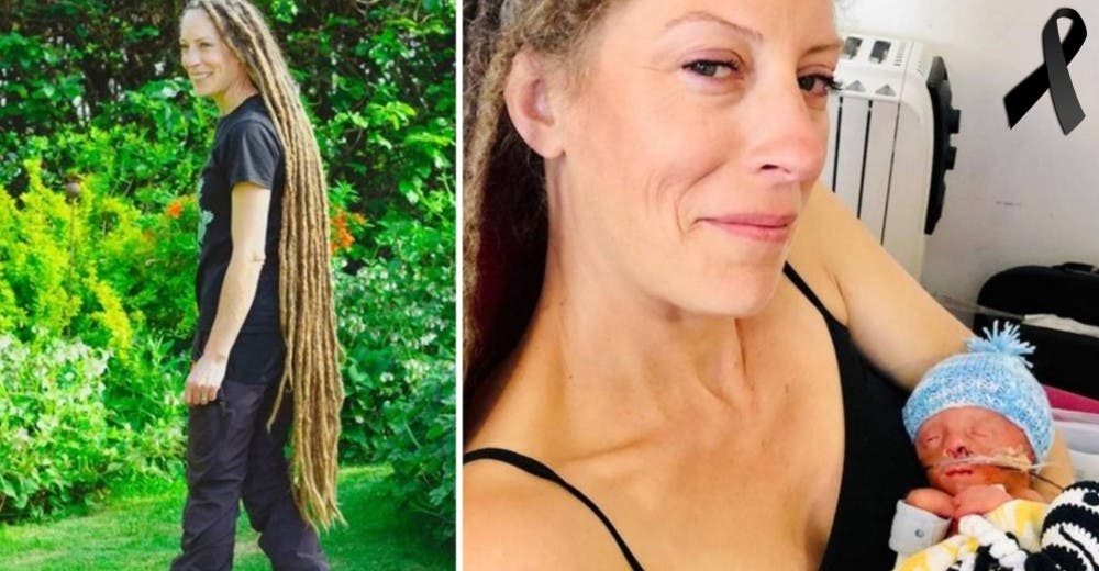 Corta sus rastas tras 11 años para ayudar al hospital en el que perdió a su bebé