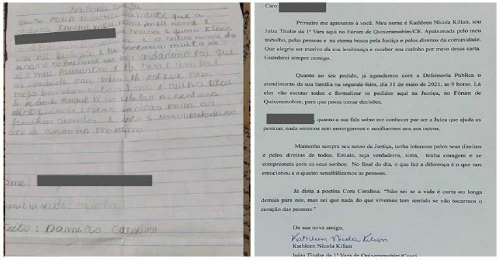 La juez recibe la carta de un niño que le pide quitarse el apellido de su papá para siempre
