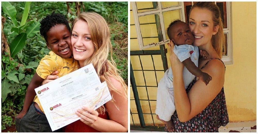 Se aleja de su pareja para poder adoptar al niño que conoció hace 6 años en un orfanato