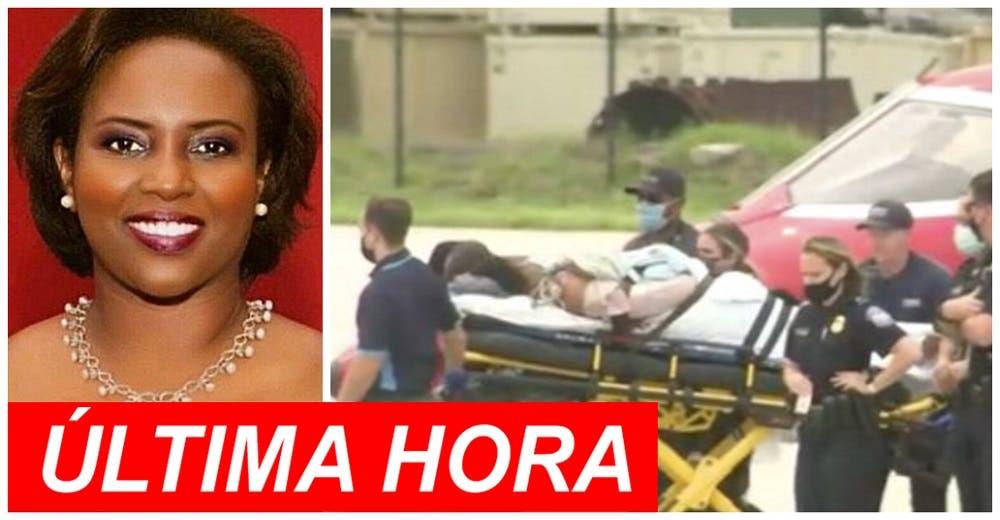 Confirman que la primera dama de Haití sobrevivió al atentado y la atienden en Estados Unidos